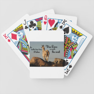 True Love Bicycle Playing Cards