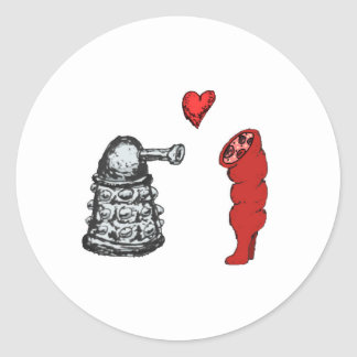 True Love Classic Round Sticker