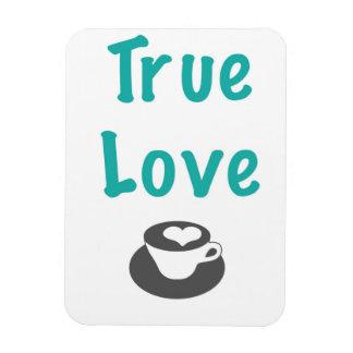 True Love coffee magnet