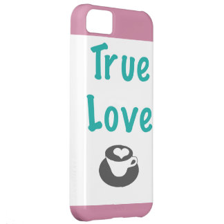 True love coffee phone case