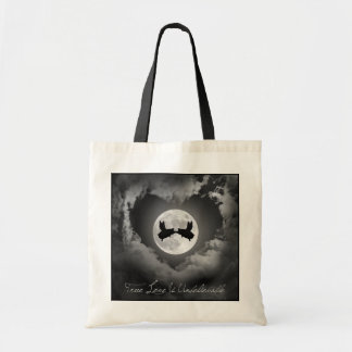 True Love Is Unbelievable-Flying Pigs Kissing Tote Bag