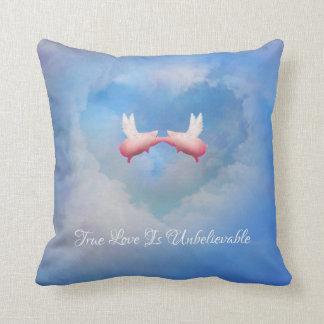 True Love Is Unbelievable Throw Pillow