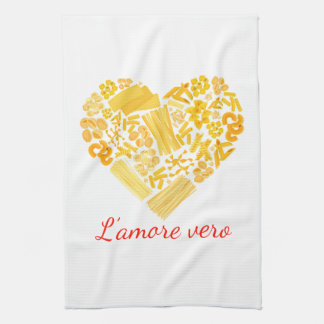 True Love - Italian Pasta Kitchen Towel