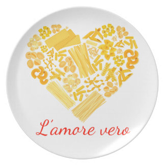 True Love - Italian Pasta Platter Party Plates