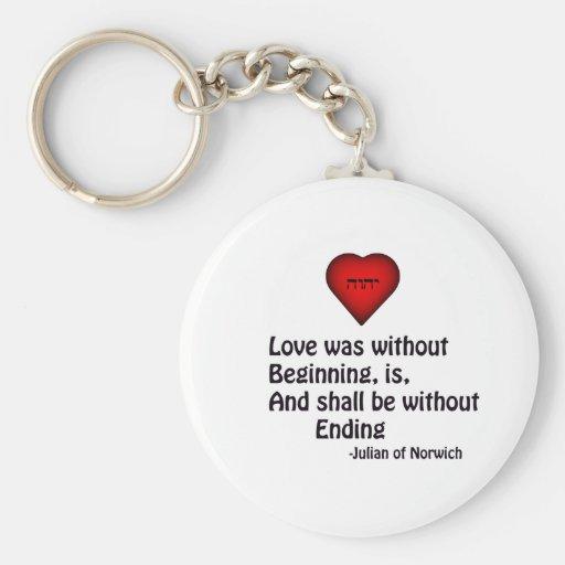 True Love Keychains