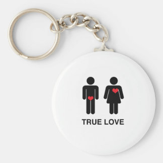 True Love Keychain