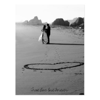 True Love last Forever Postcards