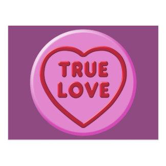 True Love Postcard