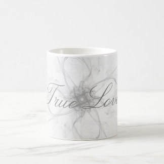 True Love Stencil Design Mug