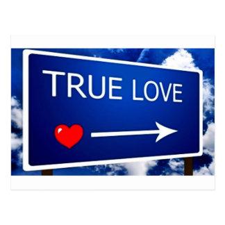 True Love This Way Postcard