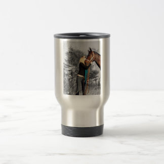 True love travel mug