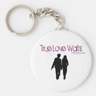 True Love Waits Keychain