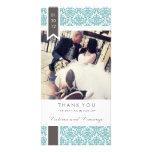 TRUE LOVE   WEDDING THANK YOU PHOTO CARD TEMPLATE