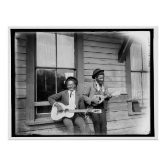 True lovers of the muse African American Musicians Poster