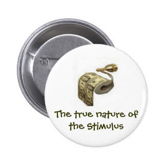 True nature of the stimulus 2 inch round button