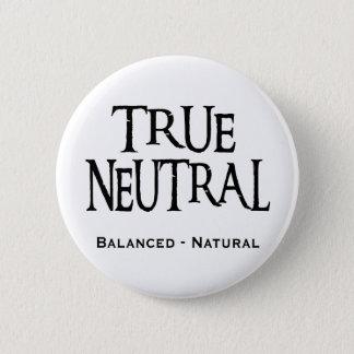 """""""True Neutral"""" 2 Inch Round Button"""