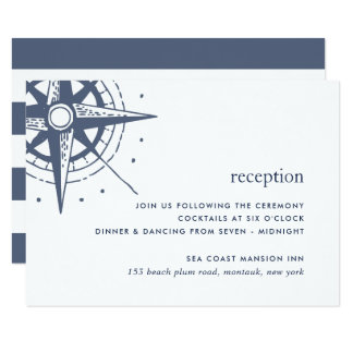 True North Reception Enclosure Card