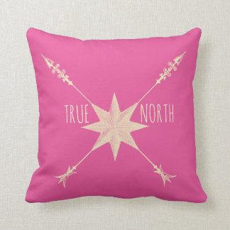 True North Throw Pillows