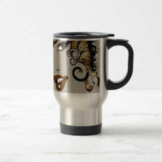 True Nubia Gear & Merchandise 15 Oz Stainless Steel Travel Mug