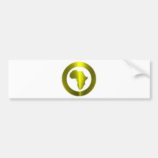 True Nubia Gear Merchandise Bumper Sticker