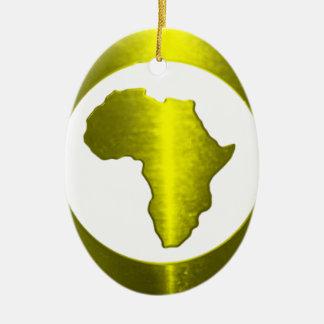 True Nubia Gear & Merchandise Ceramic Oval Ornament