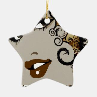True Nubia Gear & Merchandise Ceramic Star Ornament