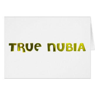 True Nubia Gear & Merchandise Greeting Card