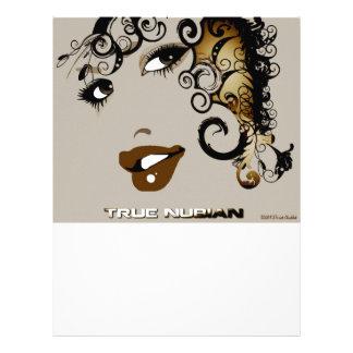 True Nubia Gear Merchandise Letterhead Design