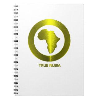 True Nubia Gear Merchandise Note Books