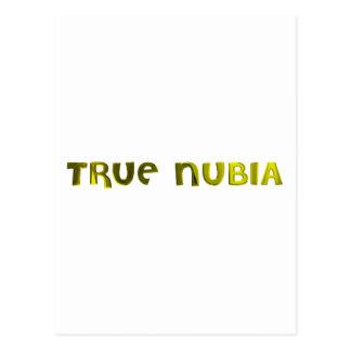 True Nubia Gear & Merchandise Postcard