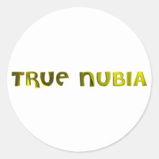 True Nubia Gear & Merchandise Round Sticker