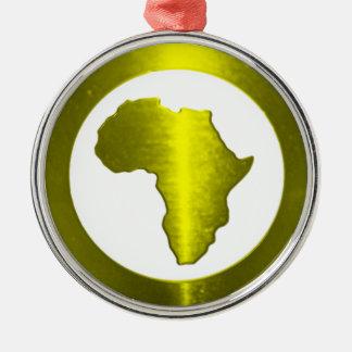 True Nubia Gear & Merchandise Silver-Colored Round Ornament