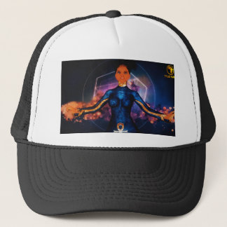 true_nubia_mascot1 trucker hat