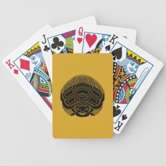 True opposite turtle bicycle playing cards