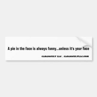 True original saying bumper sticker