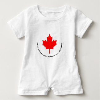 True patriot love in all of us command baby romper