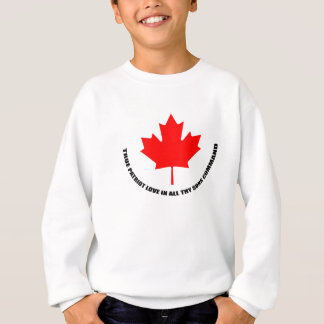 true patriot love in all thy sons command sweatshirt