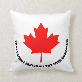 true patriot love in all thy sons command throw pillow