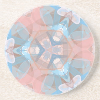 True Pinkish Blue Coaster