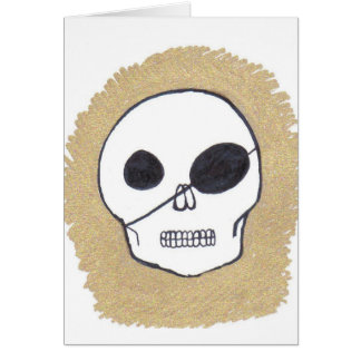True pirates greeting card
