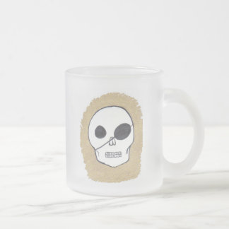 True pirates frosted glass mug