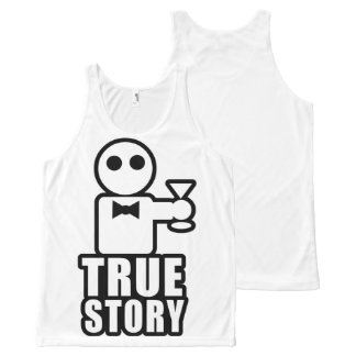 True Story All-Over-Print Tank Top