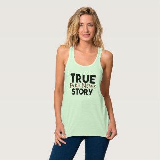 True Story Fake News Tank Top