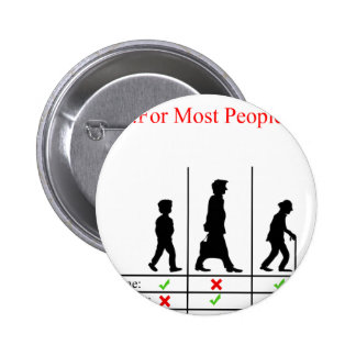 True Story Of Life 2 Inch Round Button