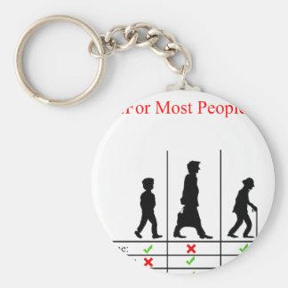 True Story Of Life Keychain