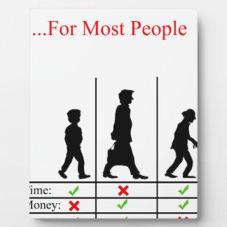 True Story Of Life Plaque