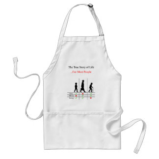 True Story Of Life Standard Apron