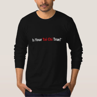 True Tai Chi™ Men's Long-sleeve T-Shirt (black)