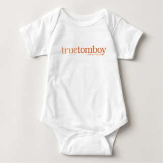 True Tomboy Girls Rule Baby Bodysuit