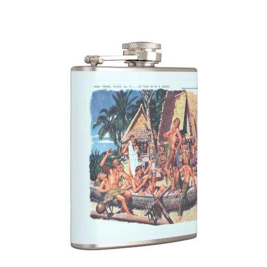 True Towel Tales No. 6 Hip Flask